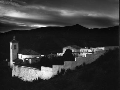 Church and Cemetery, Spain, 1960
