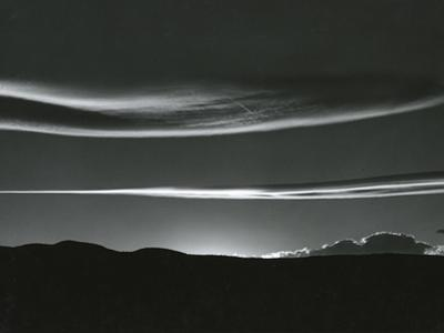 Clouds, Skyscape, 1981 by Brett Weston