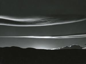 Clouds, Skyscape, 1981 by Brett Weston