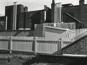 Fence, New York, c. 1945 by Brett Weston