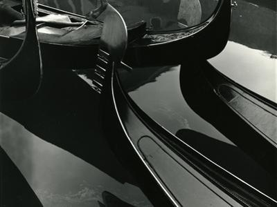 Gondolas, Venice, 1971 by Brett Weston