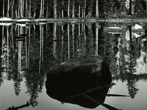 High Sierra Lake, California, 1968 by Brett Weston