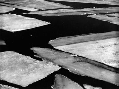 Ice and Water, High Sierra, 1958 by Brett Weston