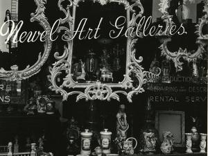 Newel Art Gallery, New York, 1943 by Brett Weston