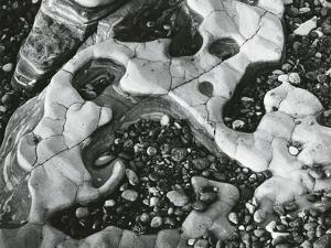 Rock and Pebbles, 1970 by Brett Weston