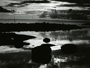 Rock and Water, Europe, 1968 by Brett Weston