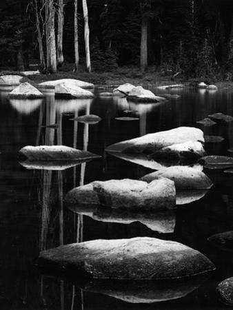 Rock and Water, High Sierra, 1972 by Brett Weston