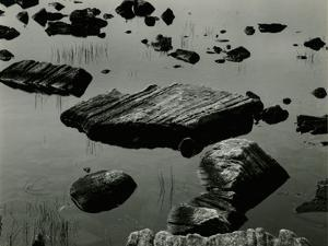 Rock and Water, Scotland, 1960 by Brett Weston
