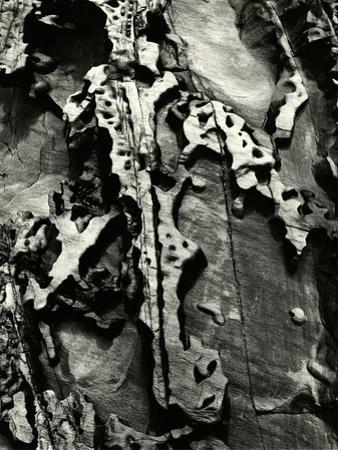Rock Formation, 1971 by Brett Weston