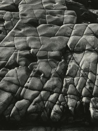 Rock Formation, 1974 by Brett Weston