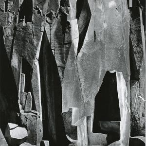 Rock Wall, Westgard Pass, California, 1971 by Brett Weston