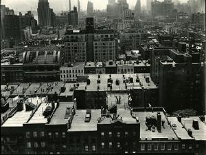 Rooftops, New York, c. 1945 by Brett Weston