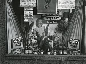Storefront Display, New York, c. 1945 by Brett Weston