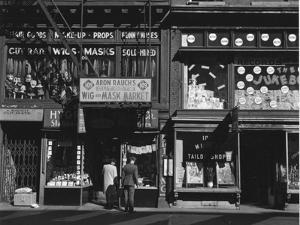 Storefront, New York, 1943 by Brett Weston