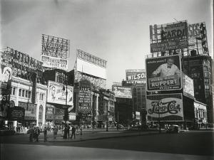 Times Square, New York, c. 1945 by Brett Weston