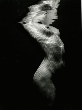 Underwater Nude, 1980 by Brett Weston