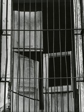 Window, Bars, Mexico, c. 1965 by Brett Weston
