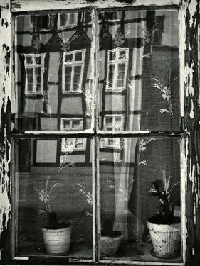 Window with Reflection, Europe, 1972 by Brett Weston