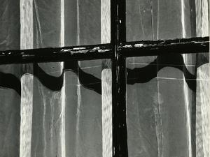 Window with Sheet Curtain, Europe, 1972 by Brett Weston