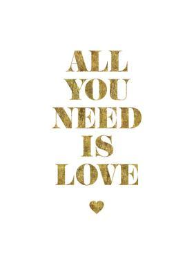 All You Need Is Love Gold by Brett Wilson