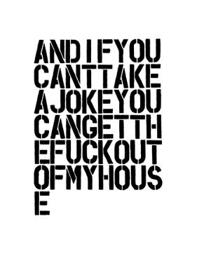 And If You Can't Take A Joke by Brett Wilson