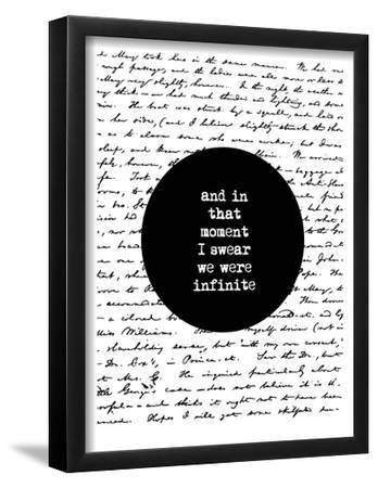 And In That Moment I Swear We Were Infinite by Brett Wilson