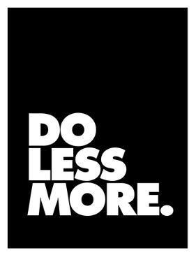 Do Less More by Brett Wilson