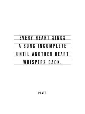 Every Heart Sings A Song Incomplete by Brett Wilson