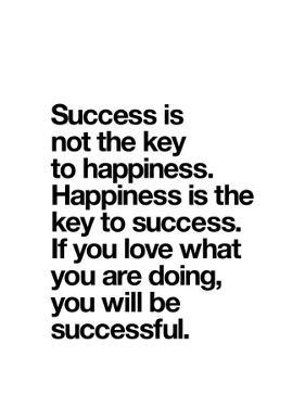 Happiness is the key to Success by Brett Wilson