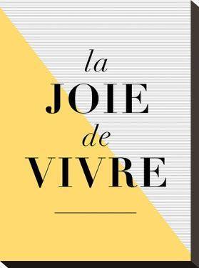 La Joie De Vivre Yellow by Brett Wilson