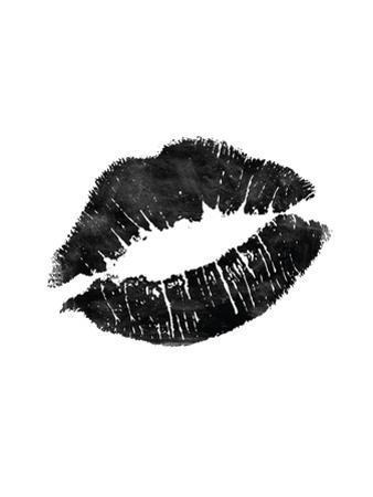 Lips Black by Brett Wilson