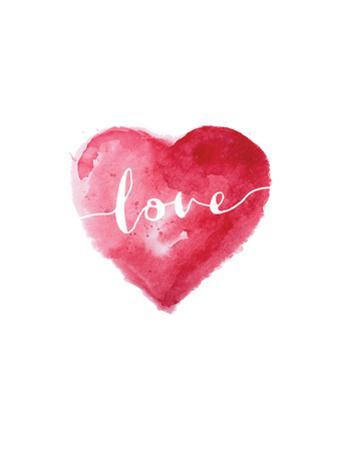 Love Heart Cursive by Brett Wilson