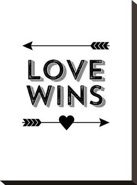 Love Wins Arrow by Brett Wilson