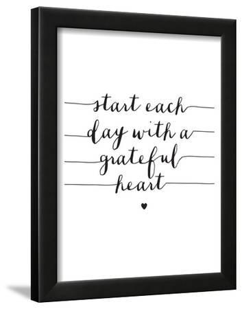 Start Each Day With A Grateful Heart by Brett Wilson