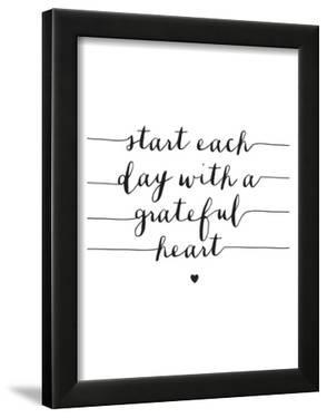 Start Each Day With A Grateful Heart by Brett Wilson