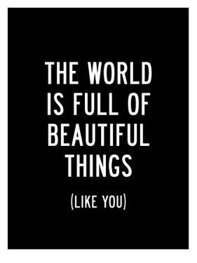 The World Is Full Of Beautiful Things by Brett Wilson