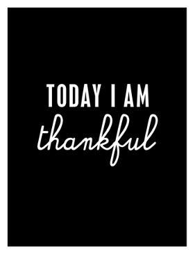 Today I Am Thankful by Brett Wilson