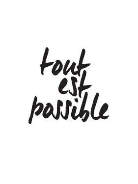 Tout Es Possible by Brett Wilson