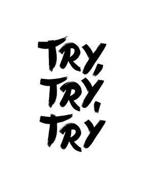Try Try Try by Brett Wilson