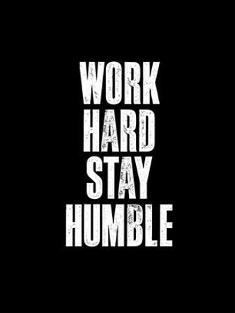 Work Hard Black