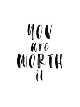 You Are Worth It by Brett Wilson