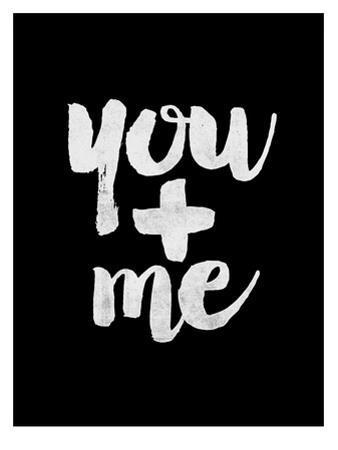 You + Me BLK by Brett Wilson