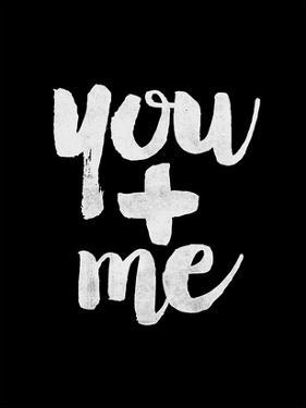 You + Me BLK by Brett Wilson