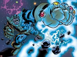 Avengers & The Infinity Gauntlet No.1: Thanos Stretching by Brian Churilla
