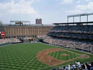 Baseball Game at Orioles Park by Brian Gordon Green