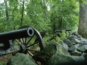 Battlefield Cannon, Gettysburg National Military Park by Brian Gordon Green
