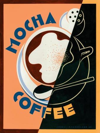 Mocha Coffee by Brian James