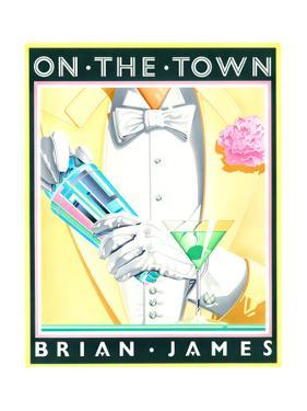 On the Town by Brian James