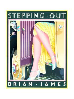 Stepping Out by Brian James