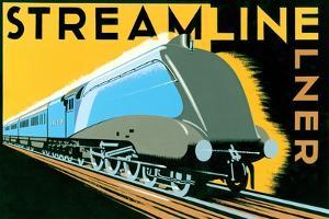 Streamline Train by Brian James